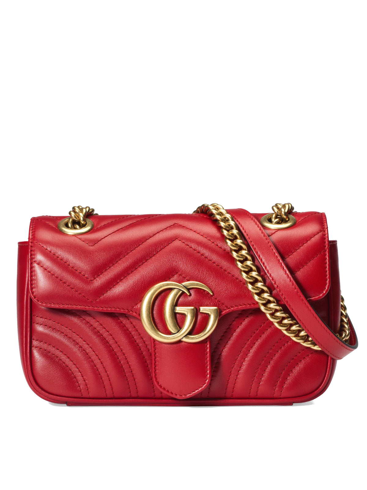 GG MARMONT MATELASSE`MINI BAG
