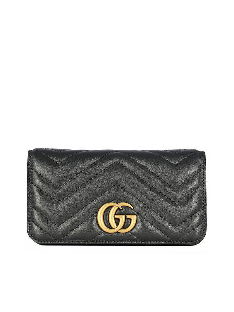 MINI GG MARMONT CHEVRON QUILTED
