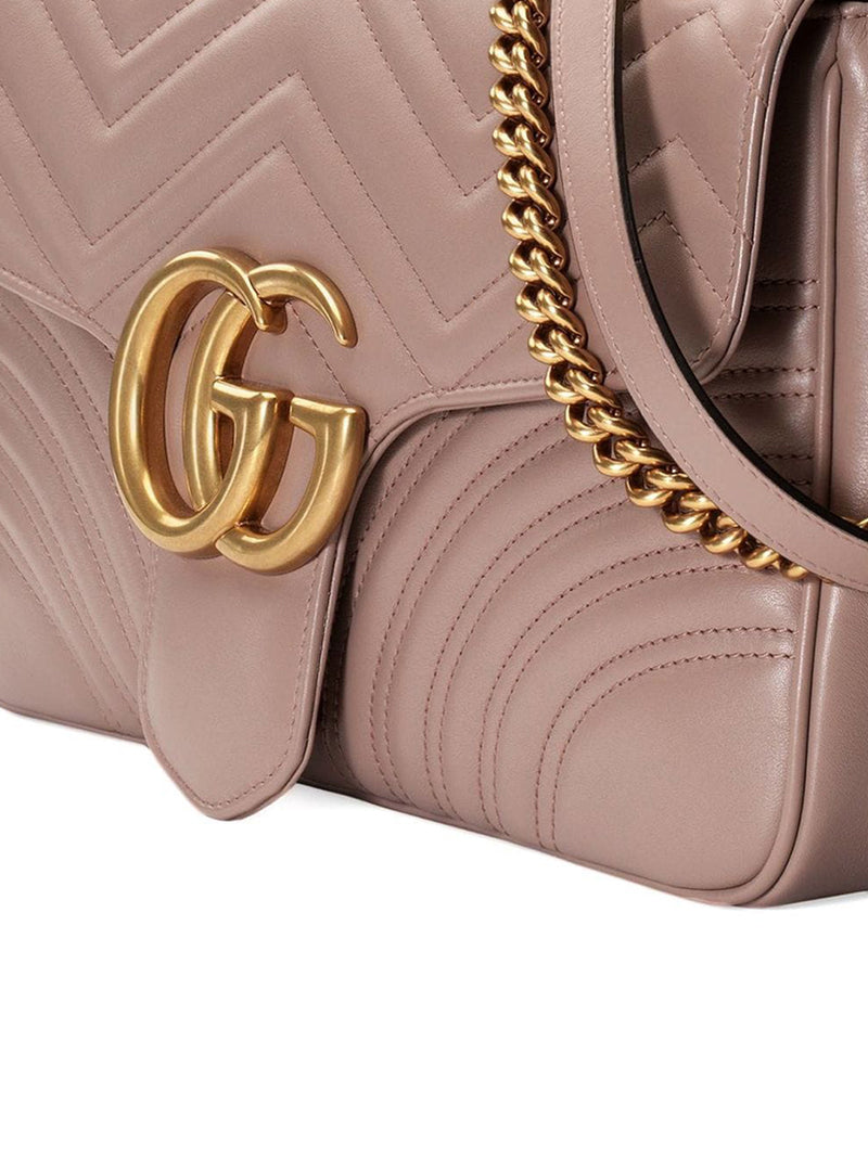 MEDIUM GG MARMONT MATELASSE` BAG