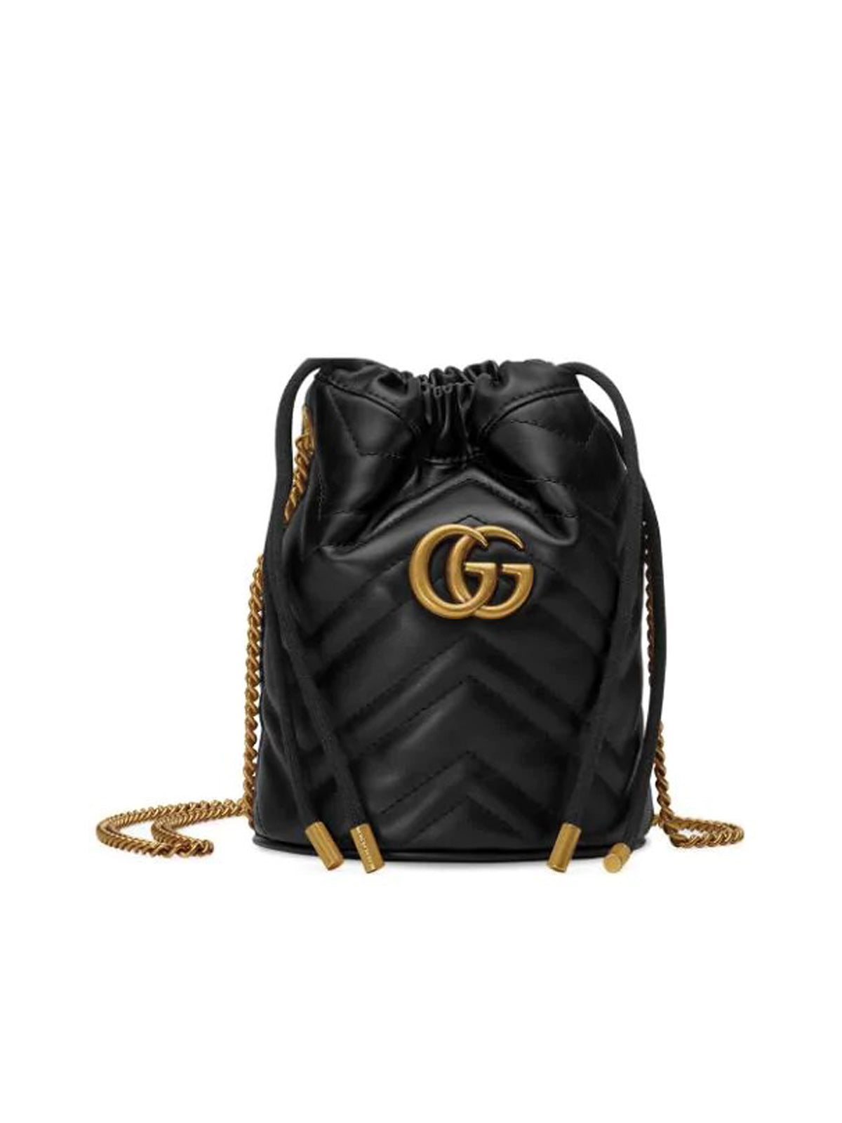 GG MARMONT SMALL BUCKET BAG