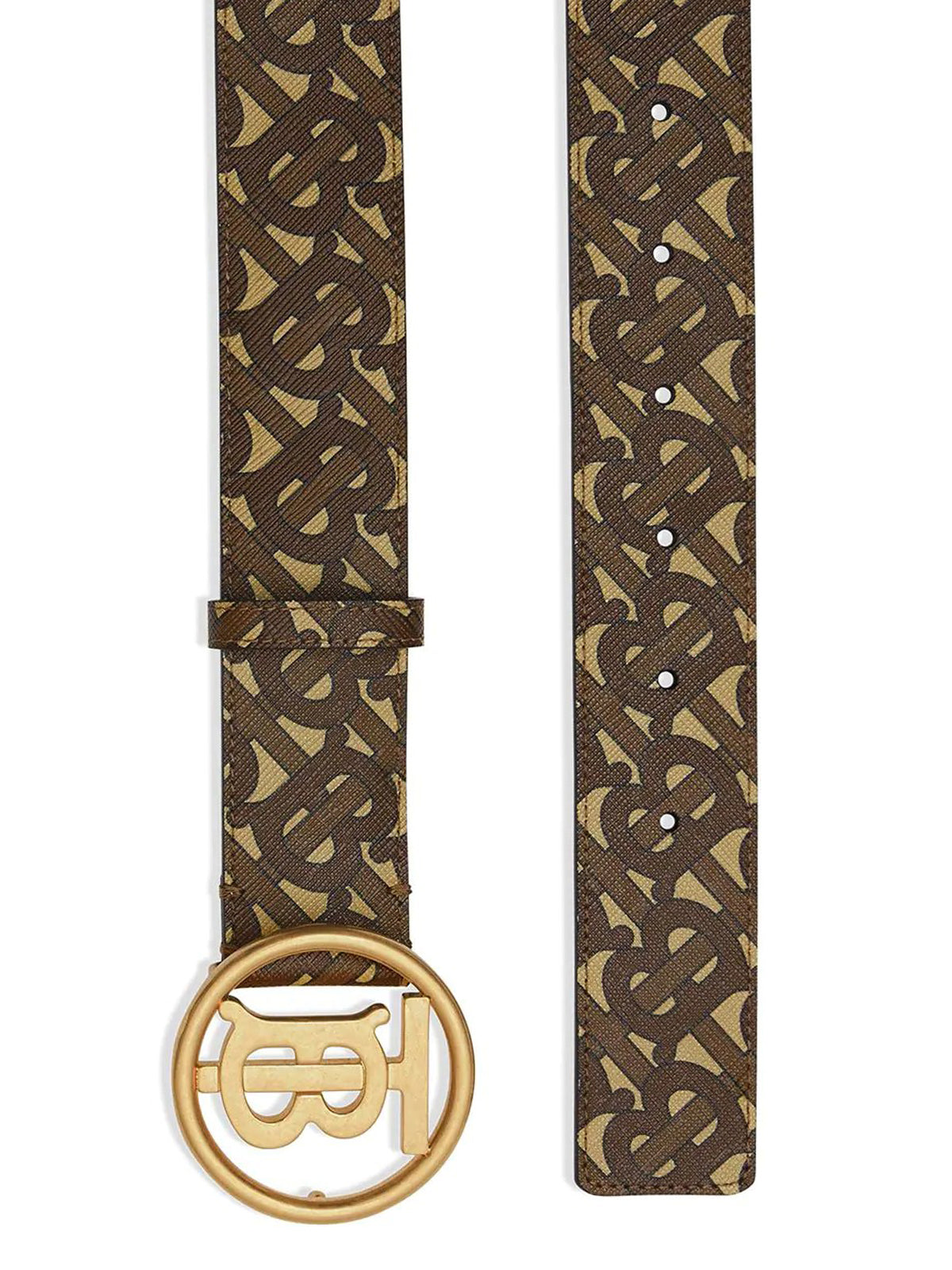 MONOGRAM MOTIF BUKLE BELT