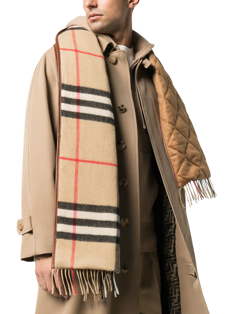 GIANT CHECK SCARF