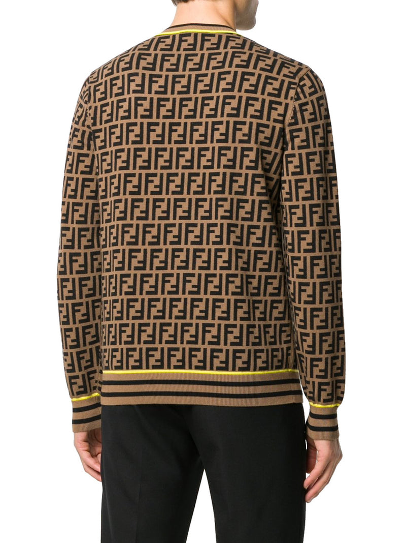FF LOGO KNITED JUMPER