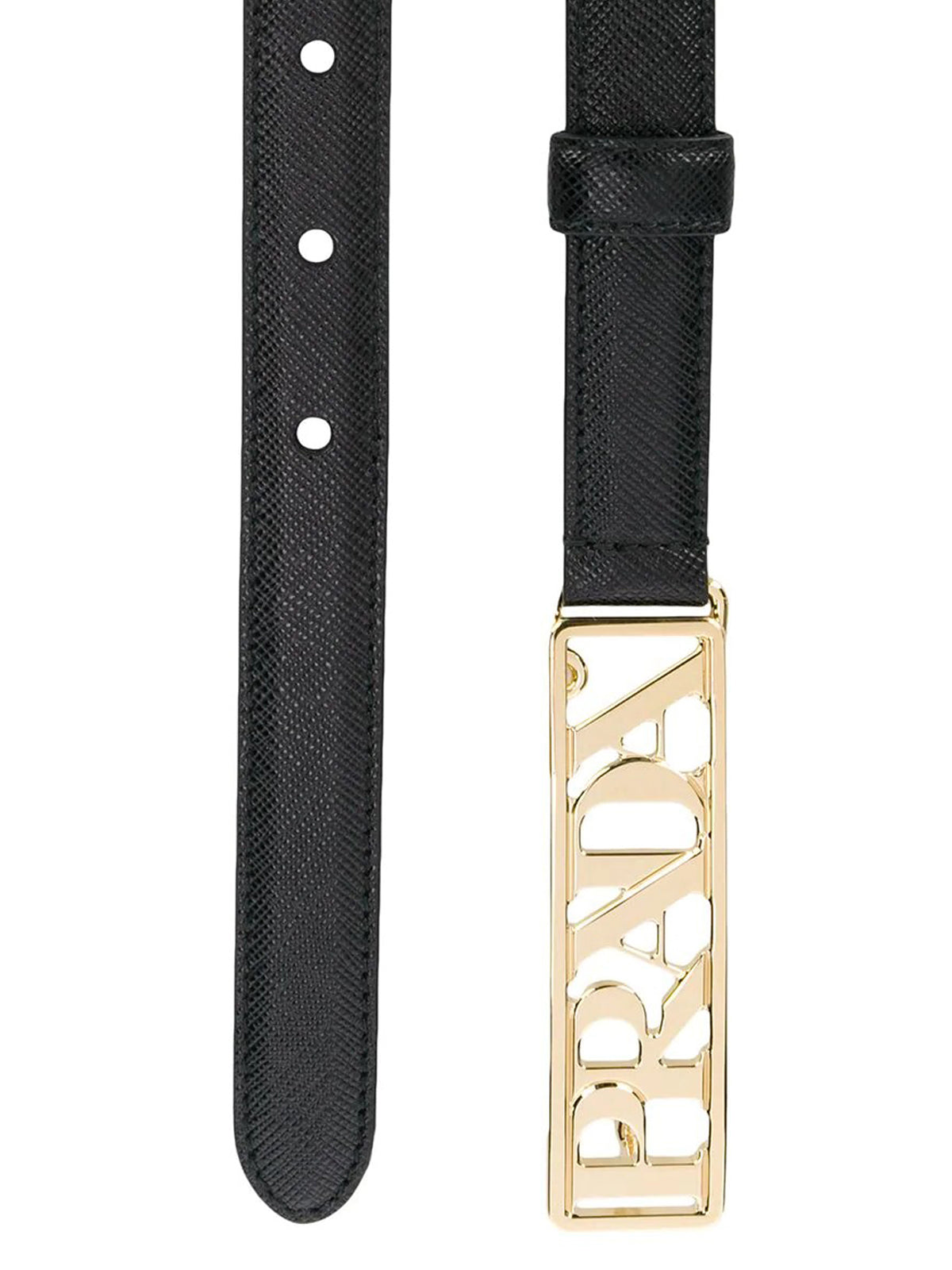 BELT WITH LOGO PLATE