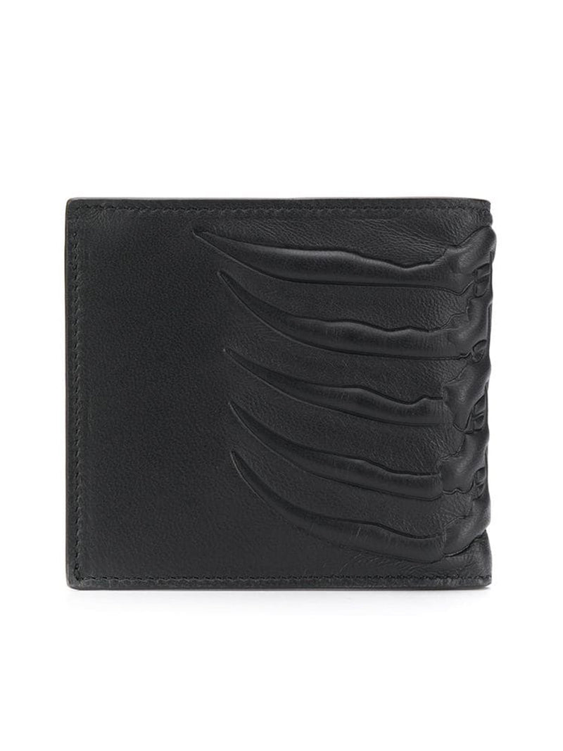 SKELETON EMBOSSED BI-FOLD WALLET