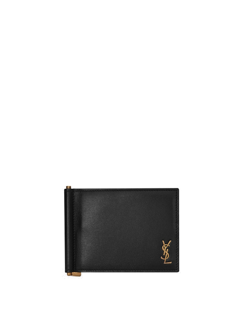 Monogram money clip wallet