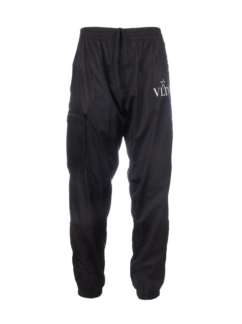 SPORT TROUSERS WITH LOGO