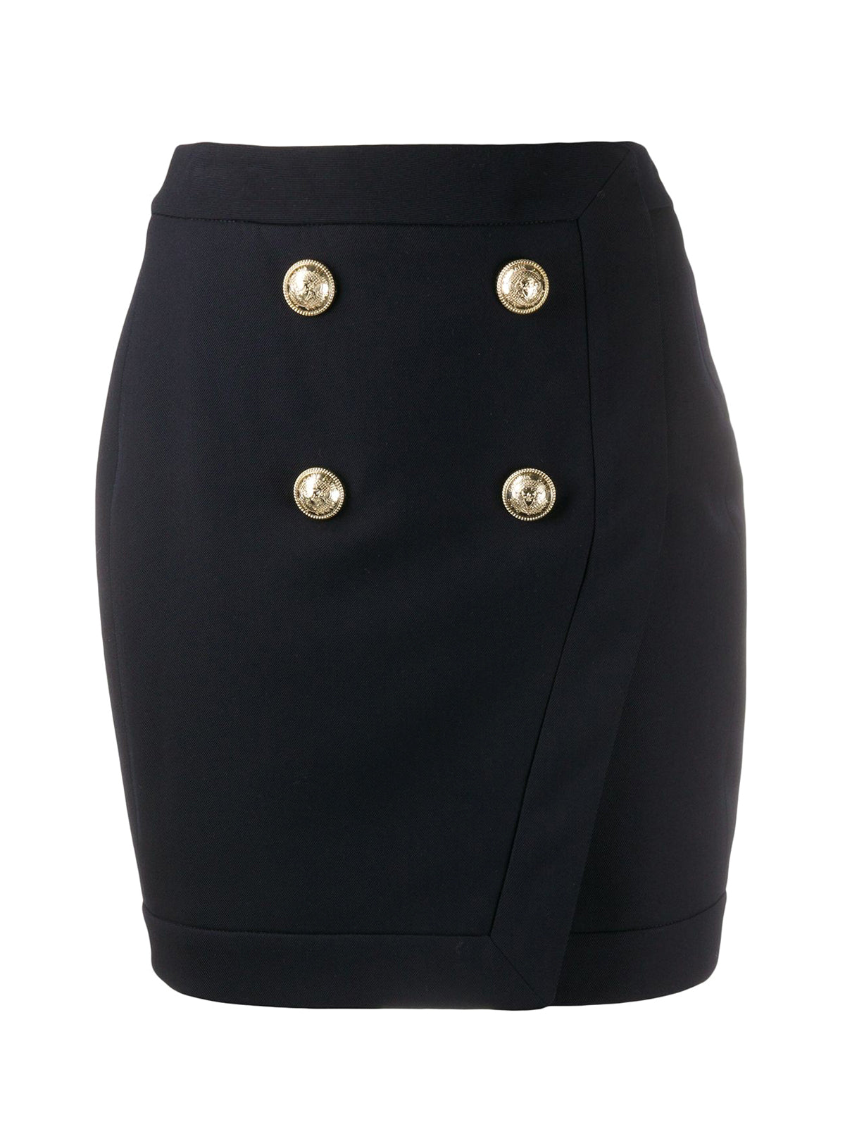 WRAP SKIRT WITH BUTTONS