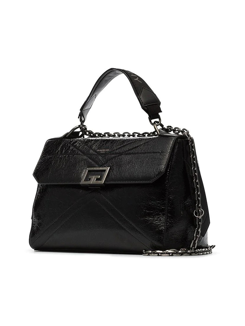 ID MEDIUM BAG IN CRACKLING LEATHER