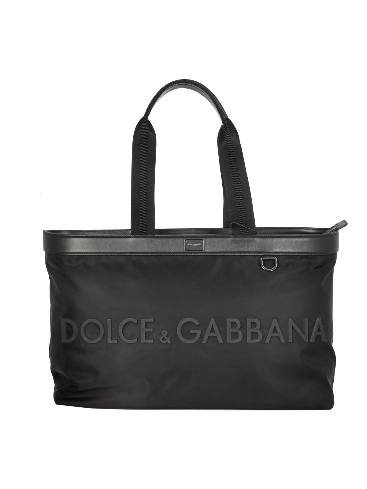 SHOPPING BAG WITH EMBOSSED LOGO