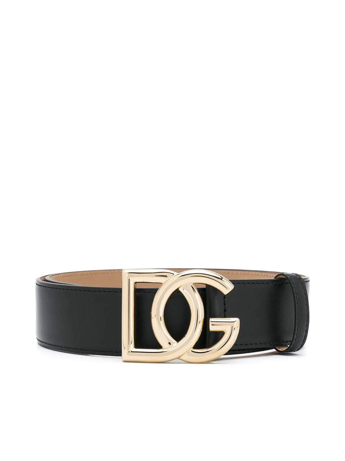 BELT WITH LOGO BUCKLE