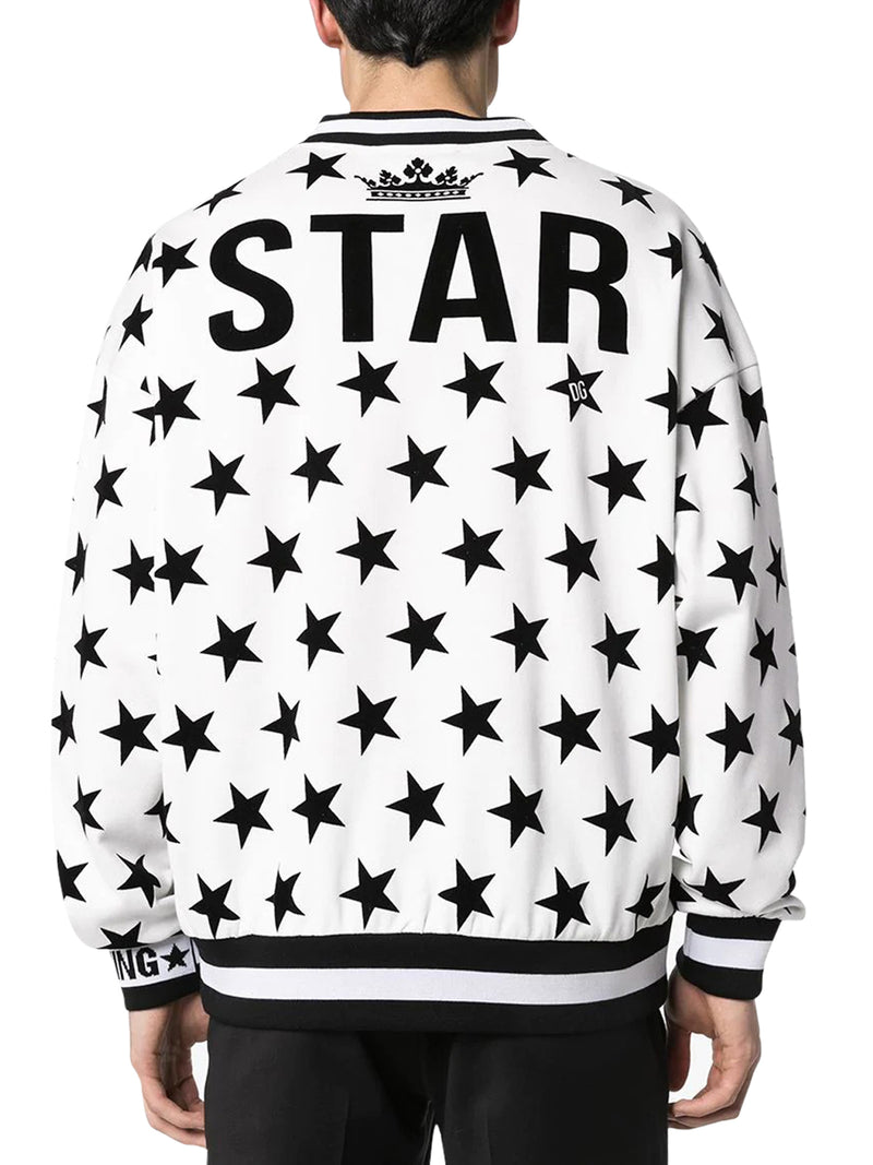 SWEATSHIRT WITH MILLENIALS STAR