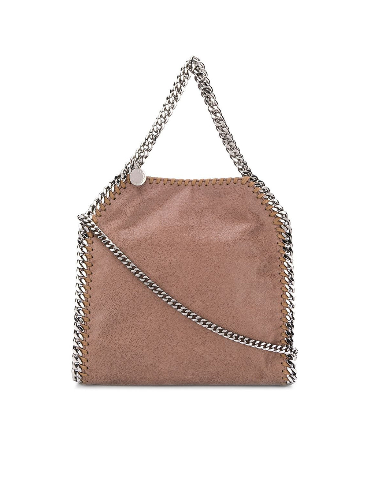 MINI TOTE FALABELLA 3 CHAIN SHAGGY DEER