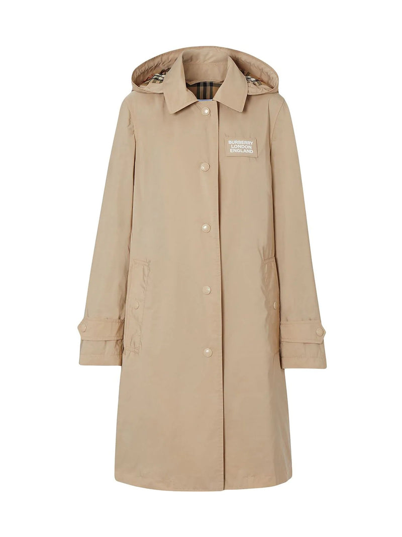 PARKA WITH APPLICATION