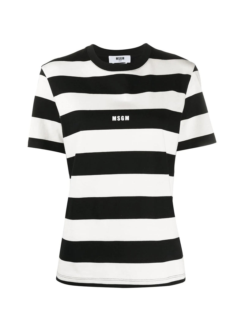 STRIPES LOGO TSHIRT