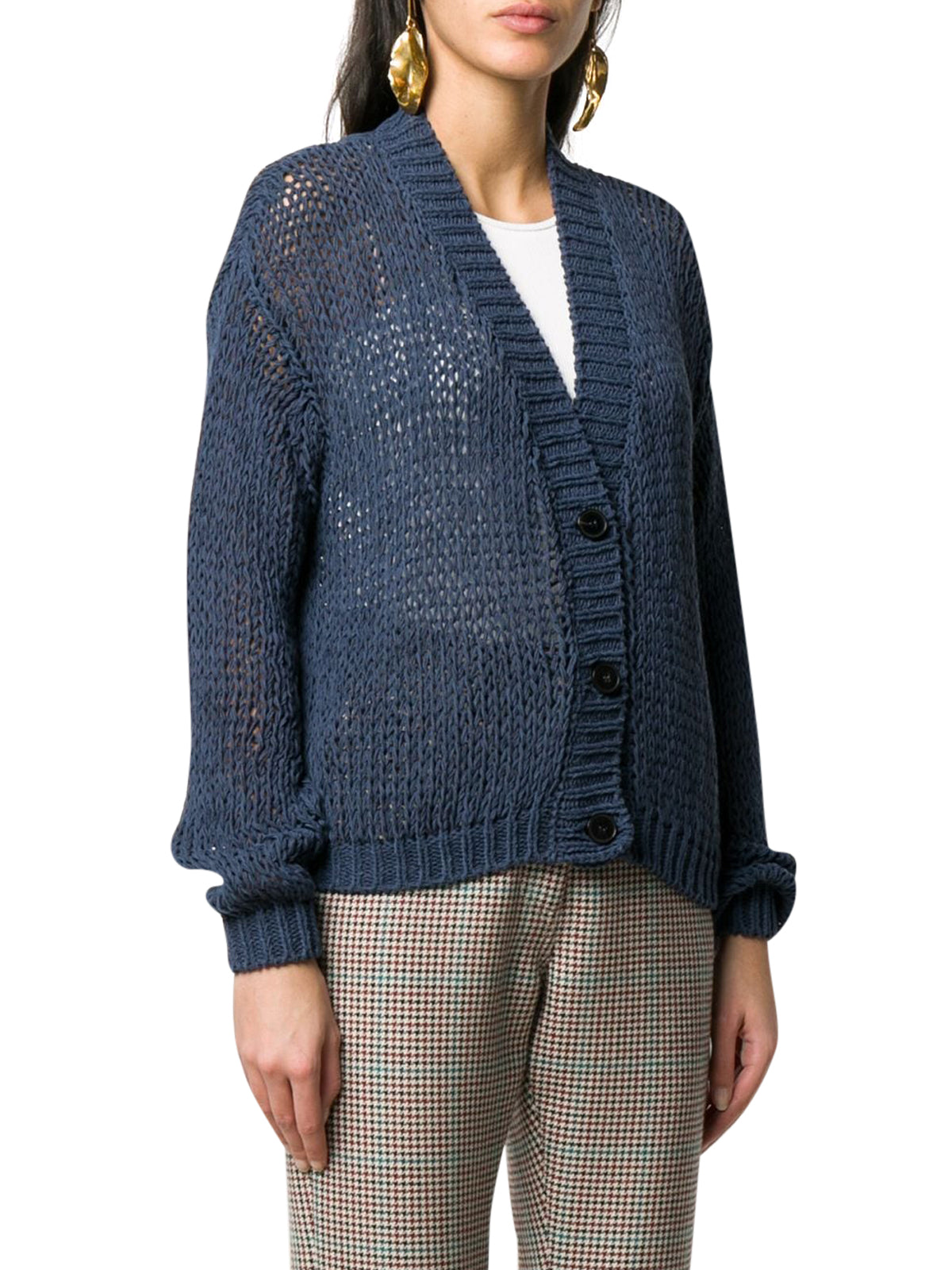 WIDE-KNIT CARDIGAN