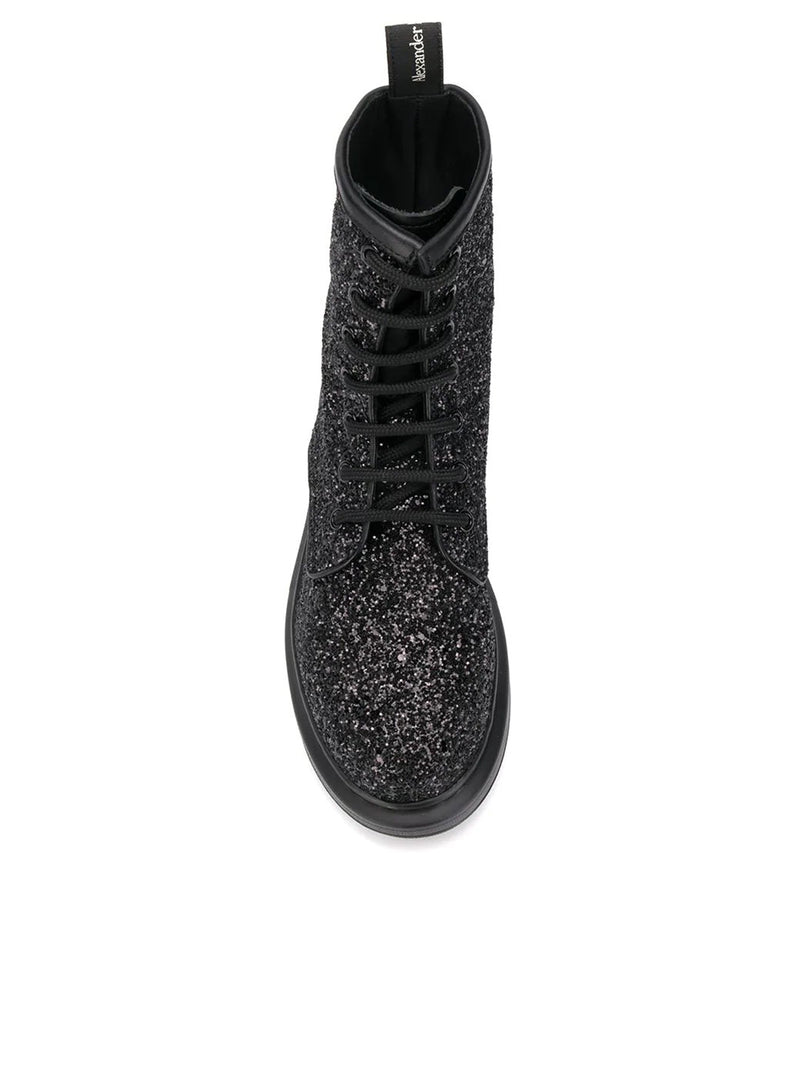 GLITTERED BOOTS