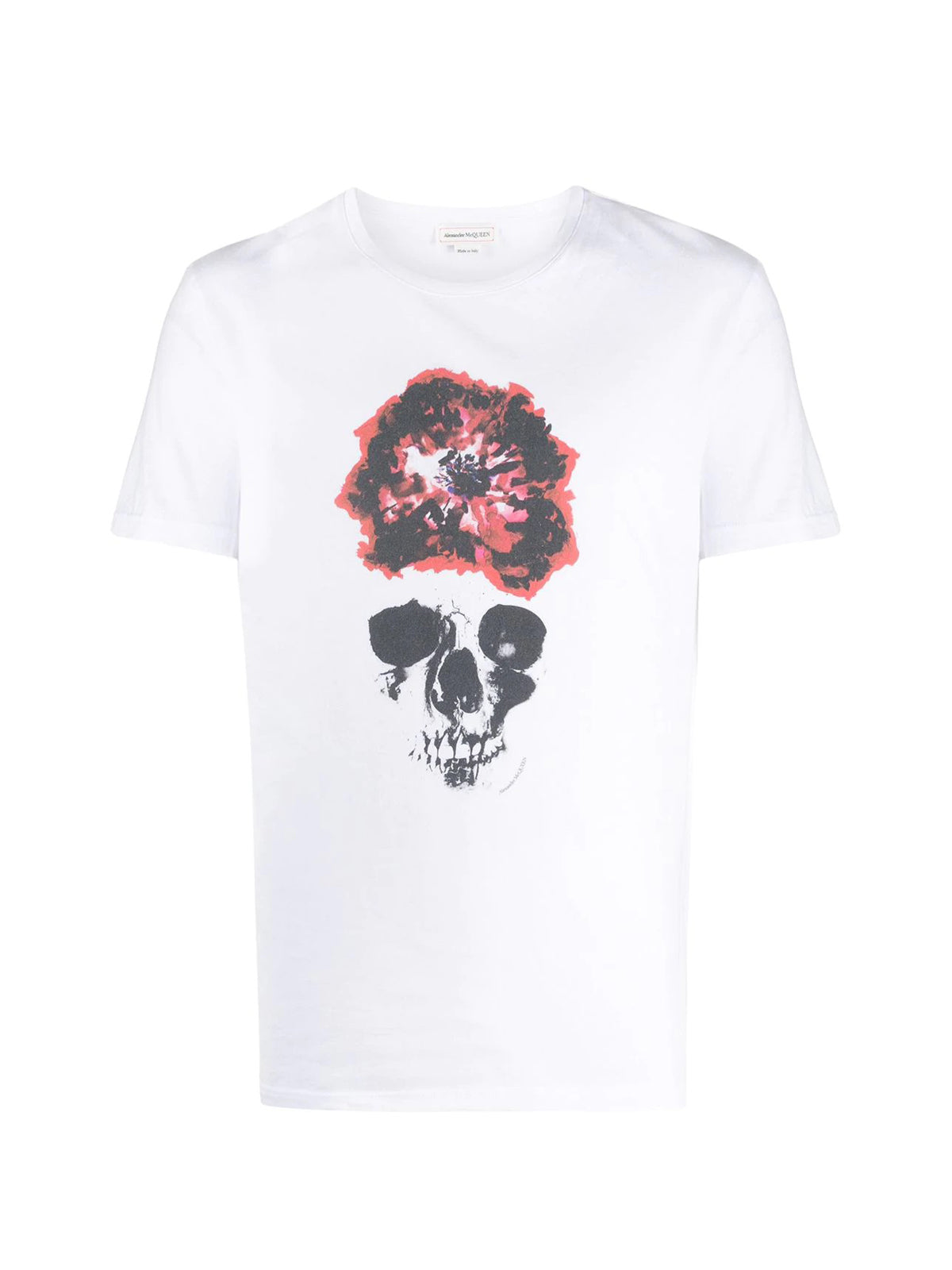 graphic skull print T-shirt