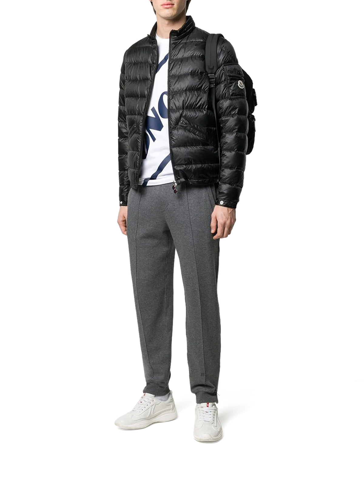 zip-up down agay jacket
