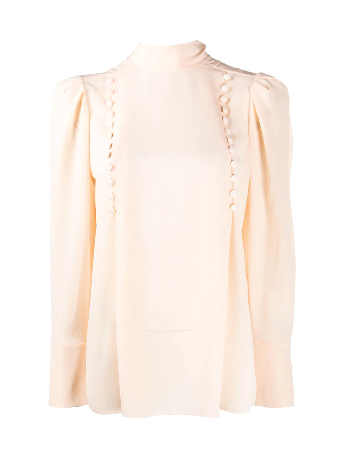 decorative buttoned blouse