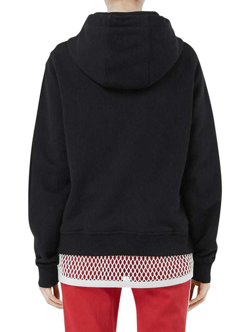 LOGO PRINT HOODED SWEATSHIRT