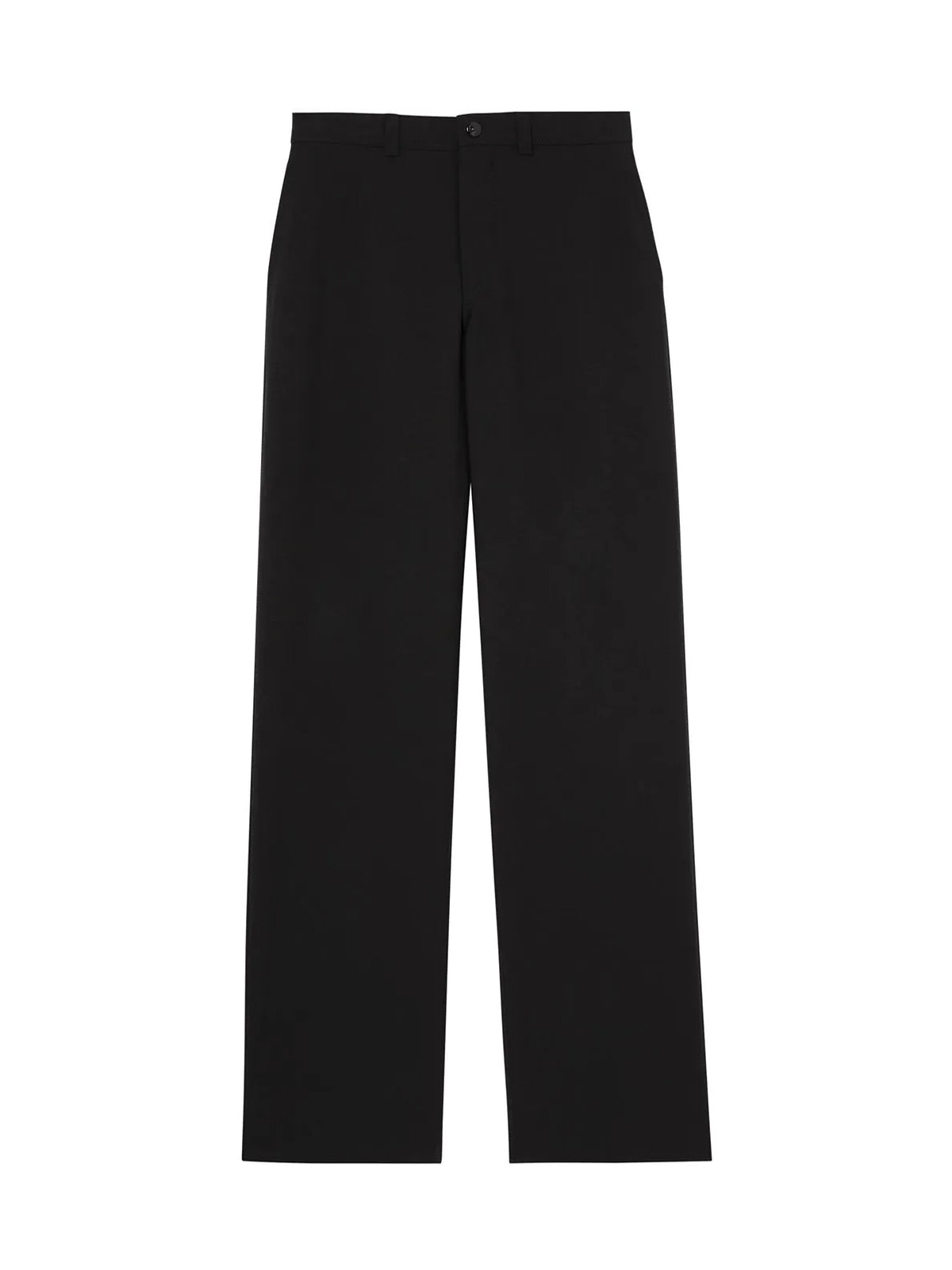 cut-out wide-leg trousers