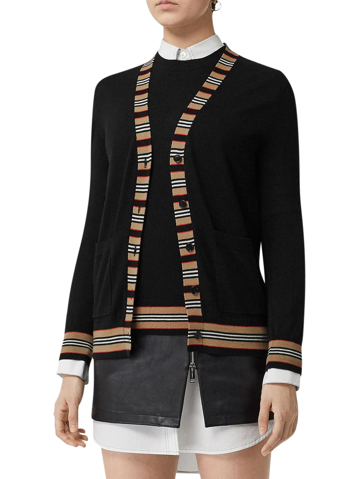 CARDIGAN WITH ICONIC DETAILS