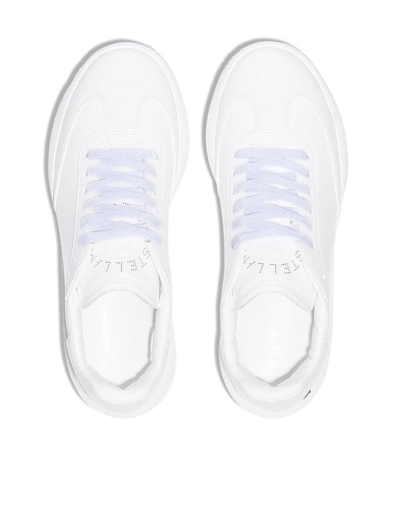 Loop lace-up sneakers