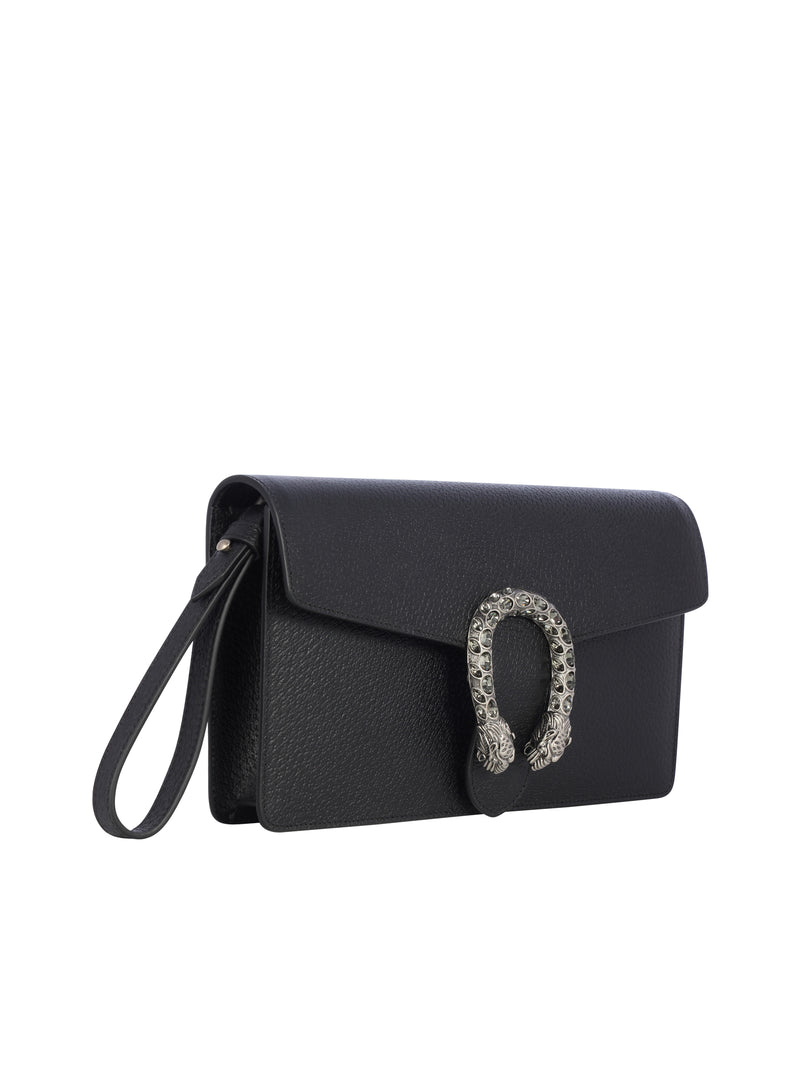 Dionysus crystal-embellished clutch
