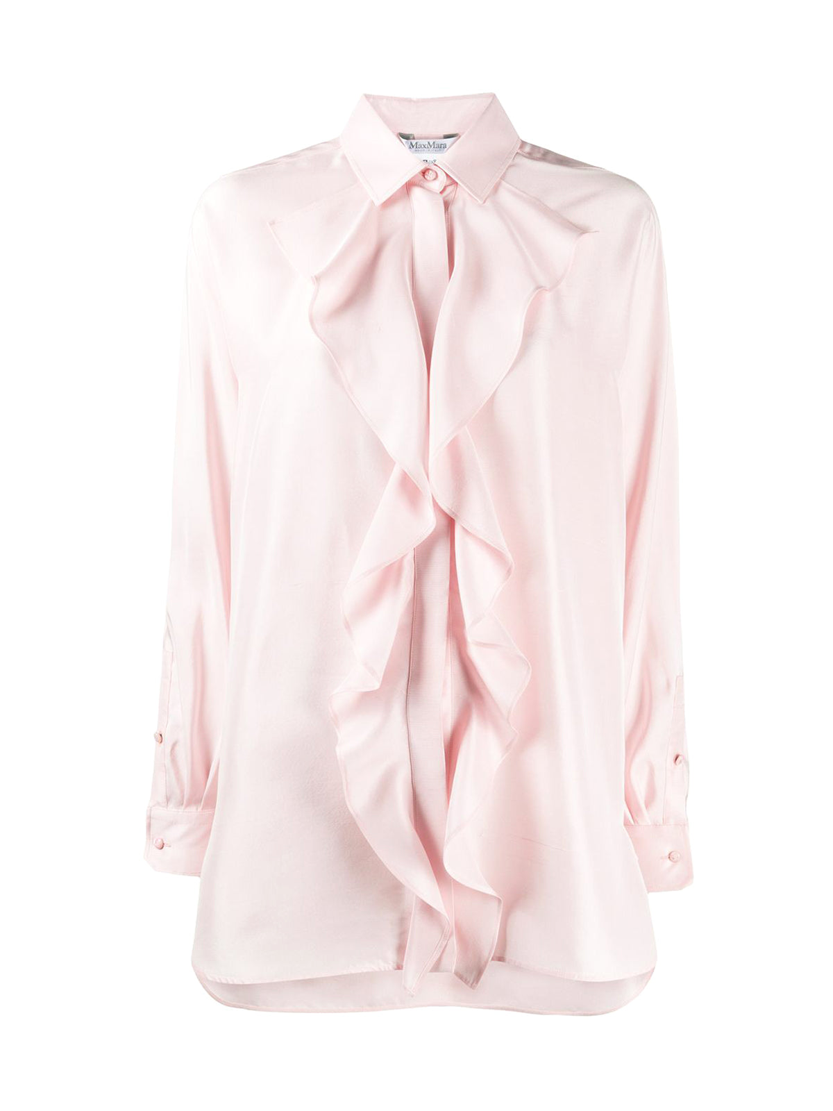 Silk shantung shirt