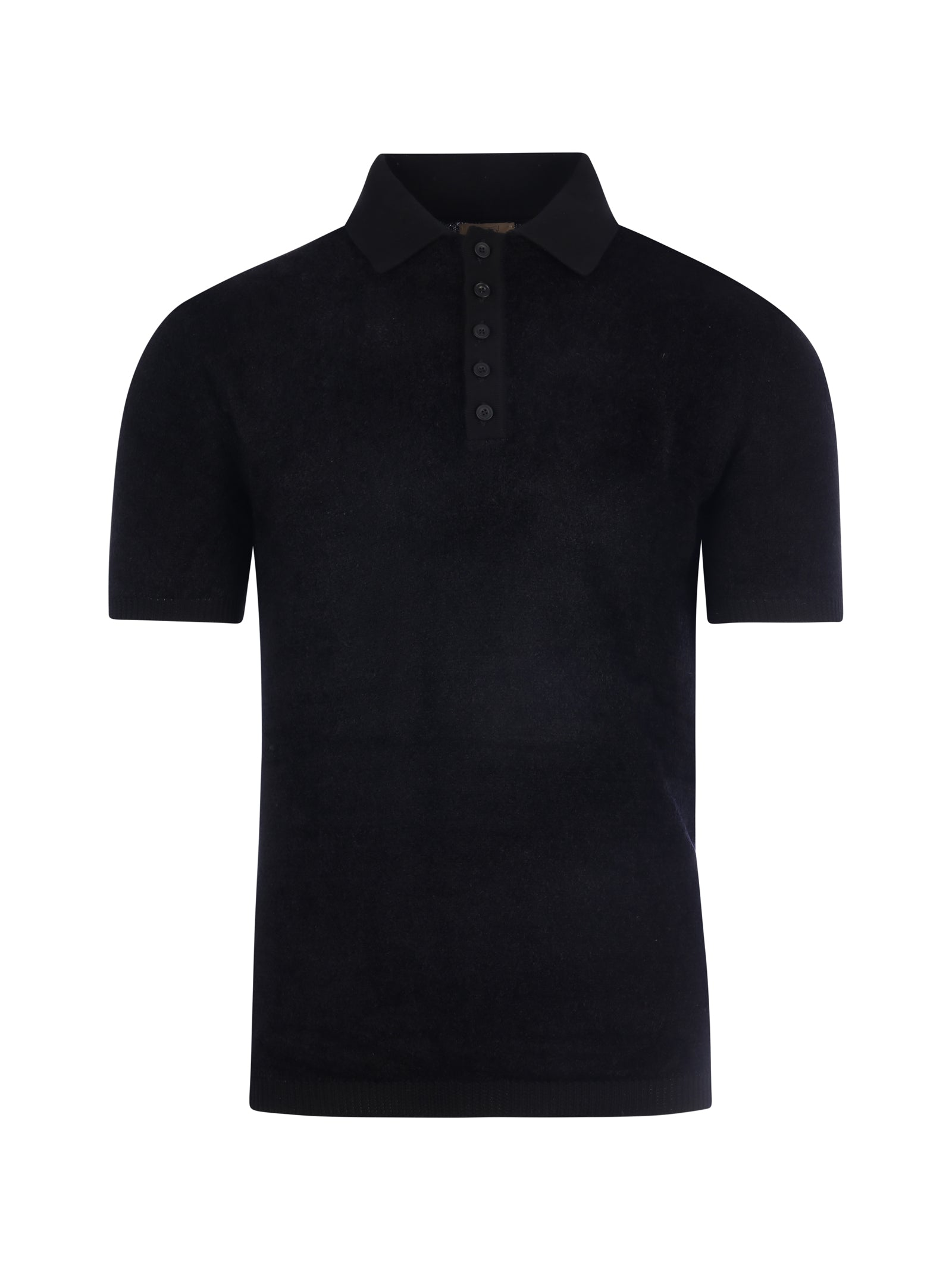 Polo shirt with short sleeves