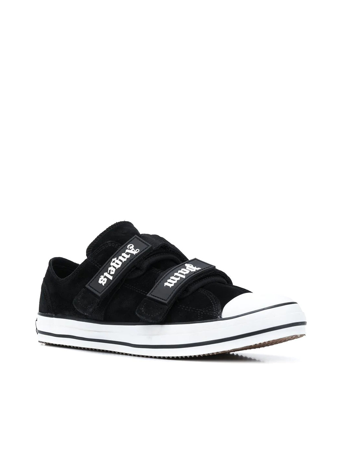 touch-strap low-top sneakers