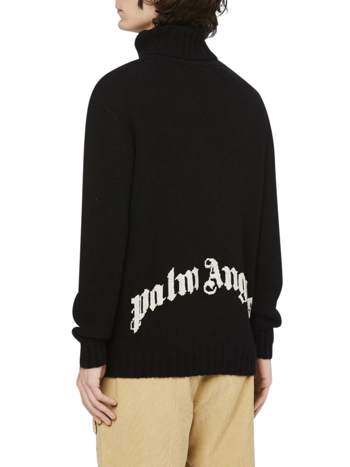 Logo turtleneck jumper