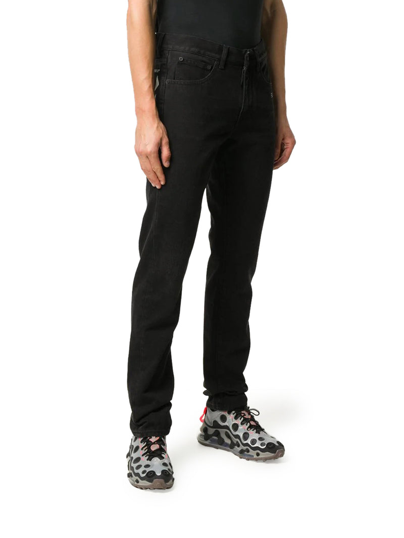 Diag Pocket Slim-Fit Jeans