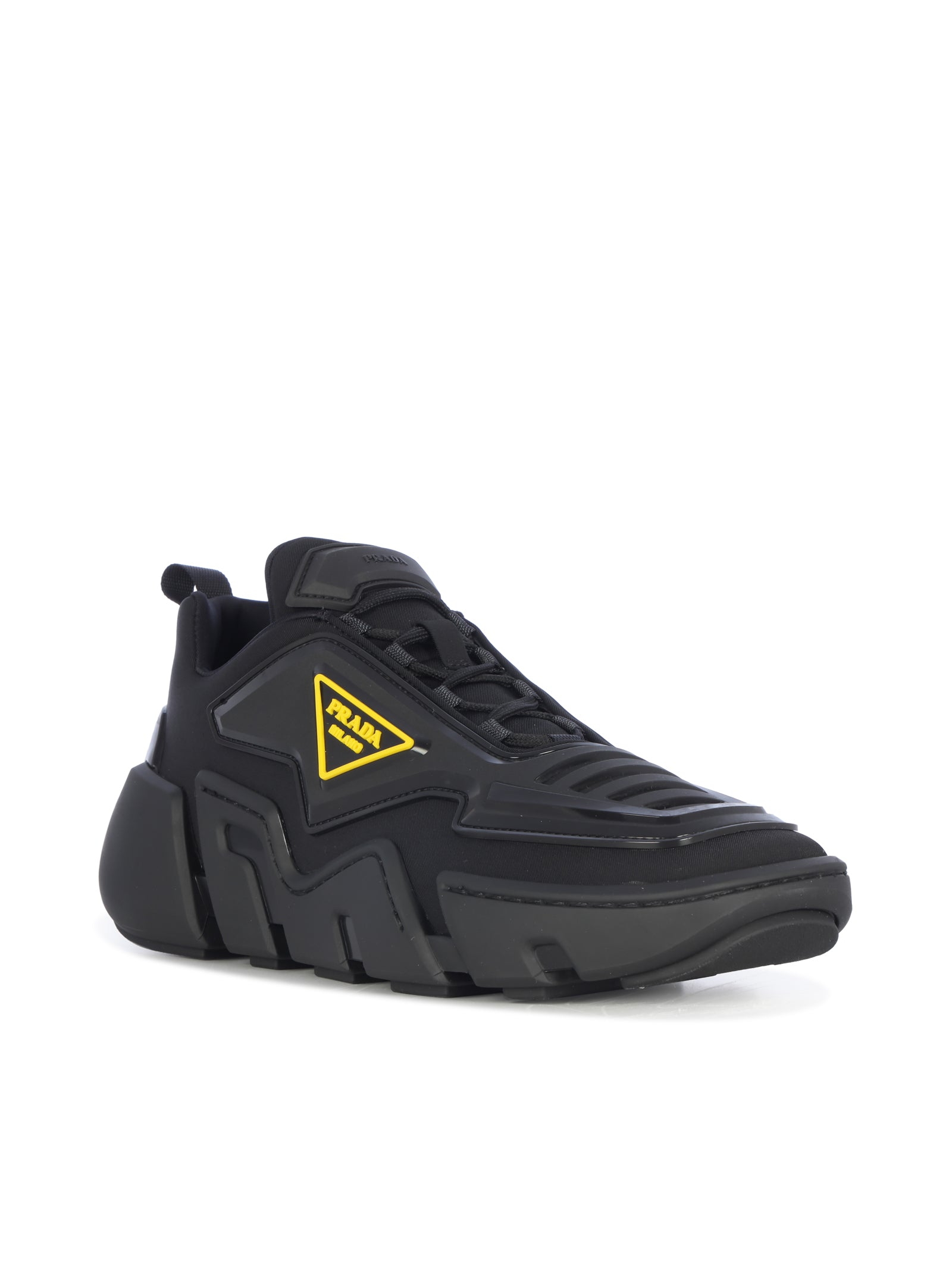 Techno Stretch low-top sneakers