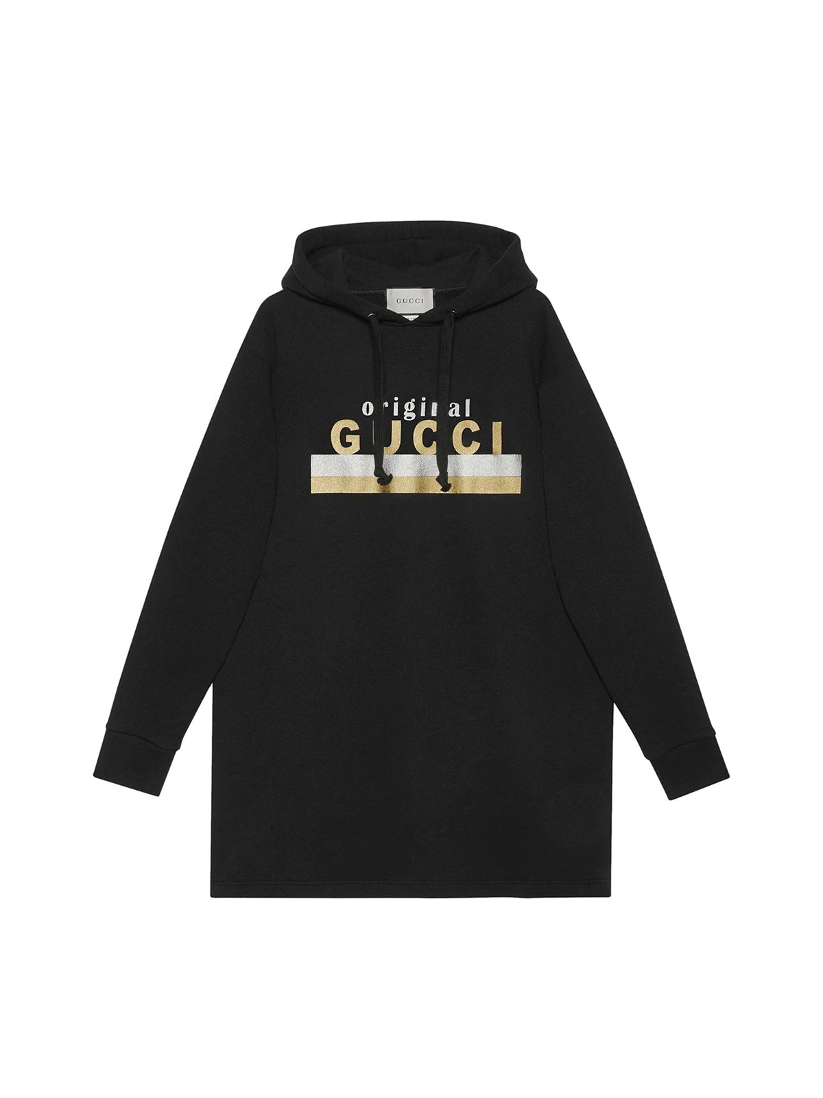 """Original Gucci"" print hooded dress"