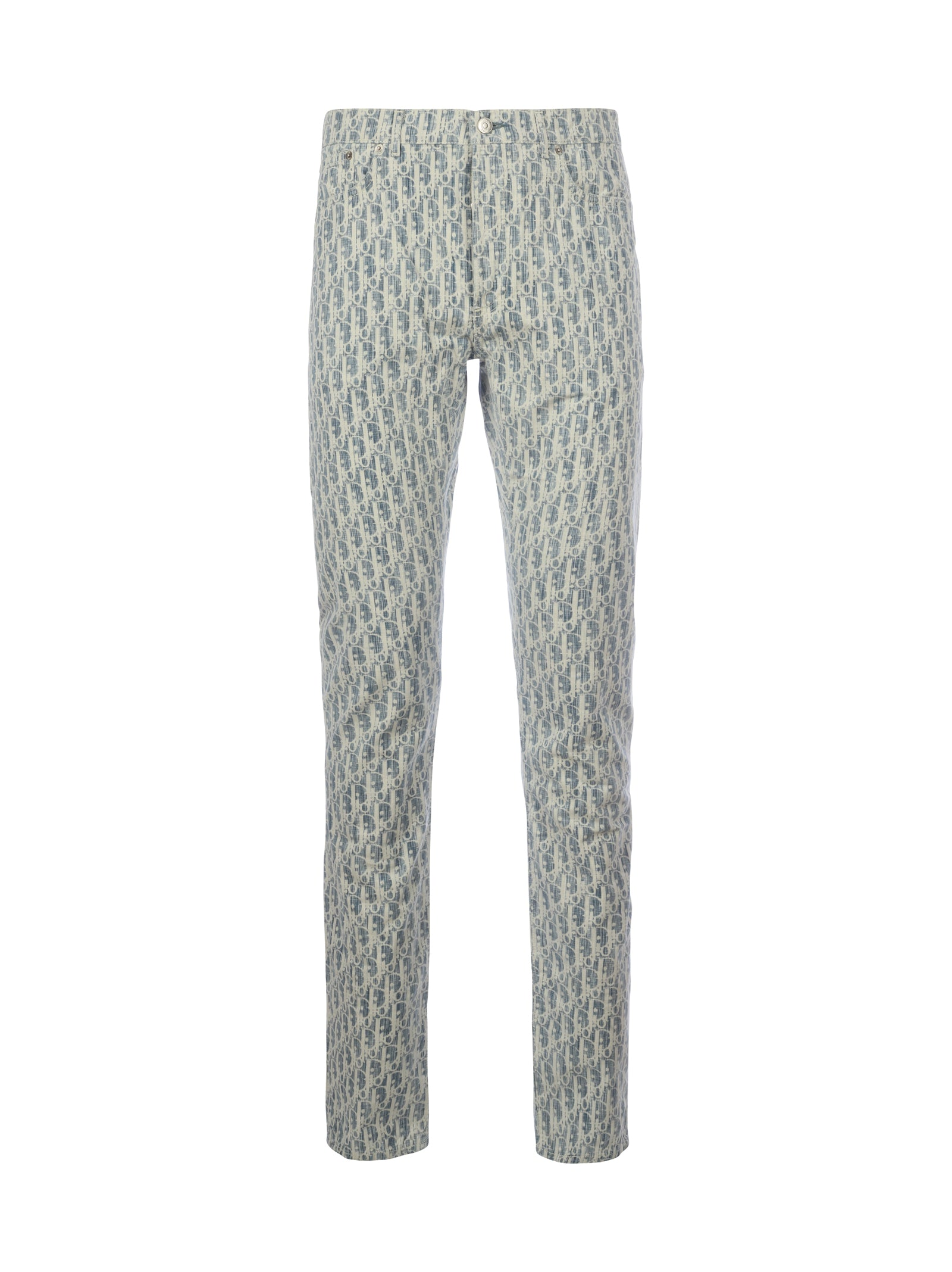 trousers with dior oblique logo