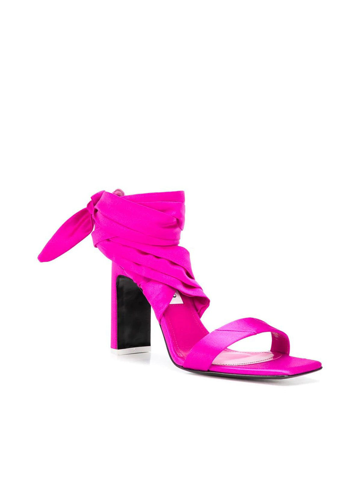 wraparound ankle tie sandals