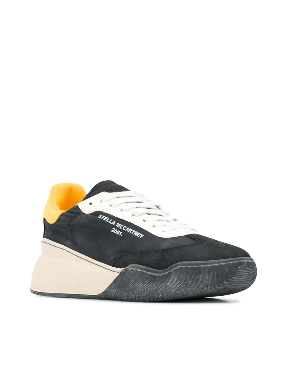 Sneakers with raised sole