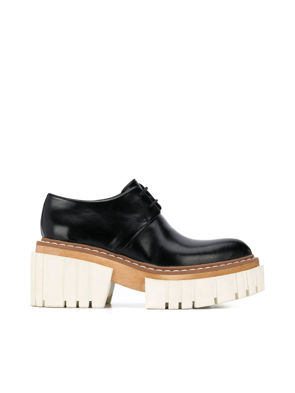 Elyse lace-ups with raised sole