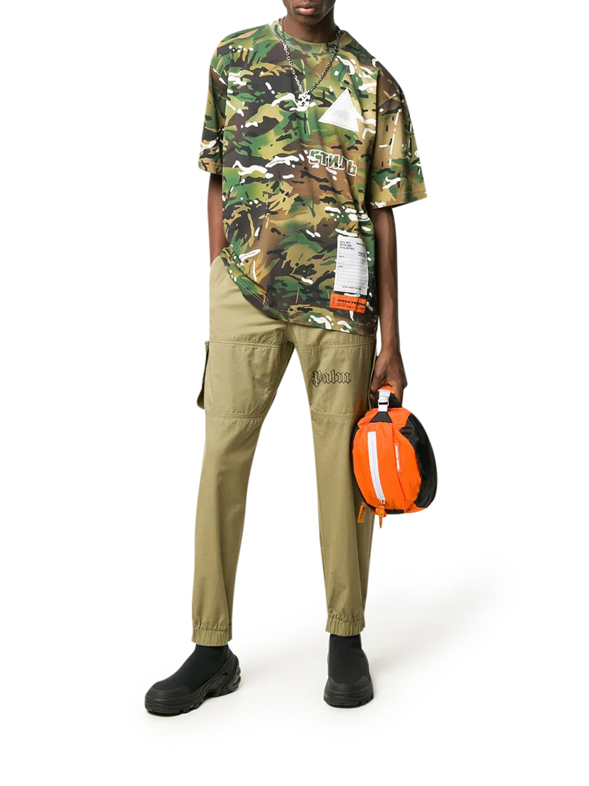 HP X MINISTRY OF DEFENCE Camouflage T-shirt
