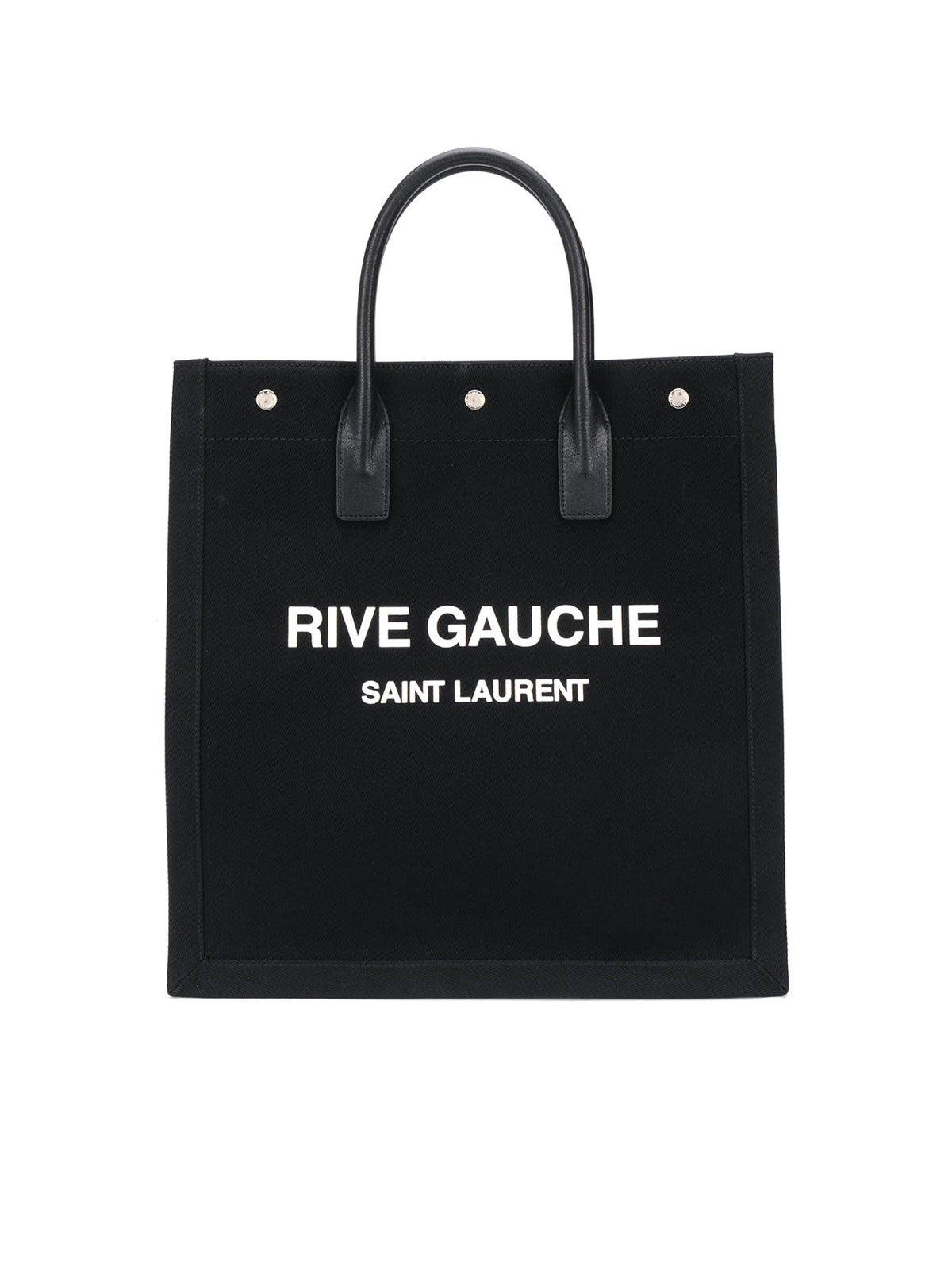 Rive Gauche canvas tote bag