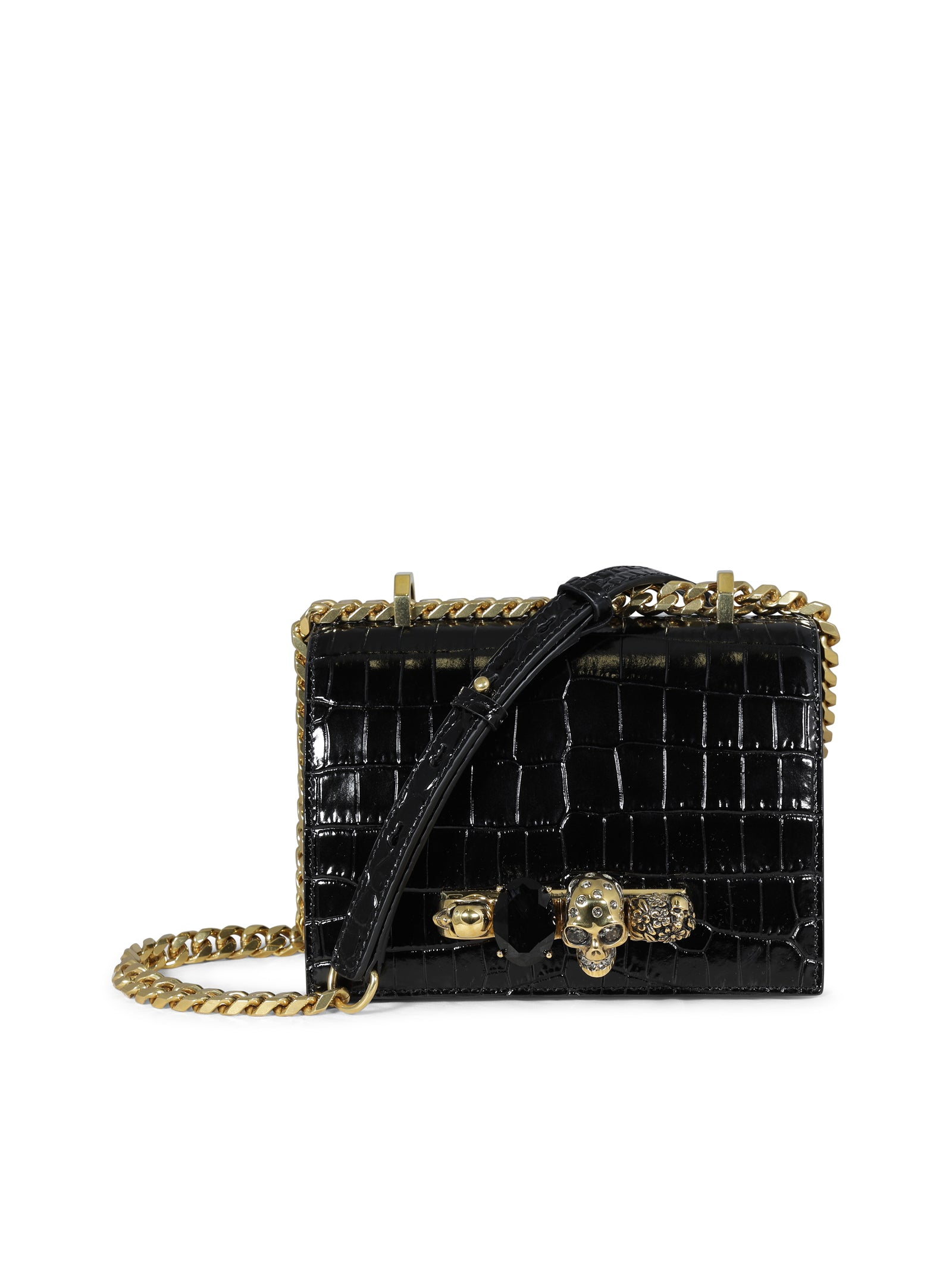 small jewelled crossbody bag