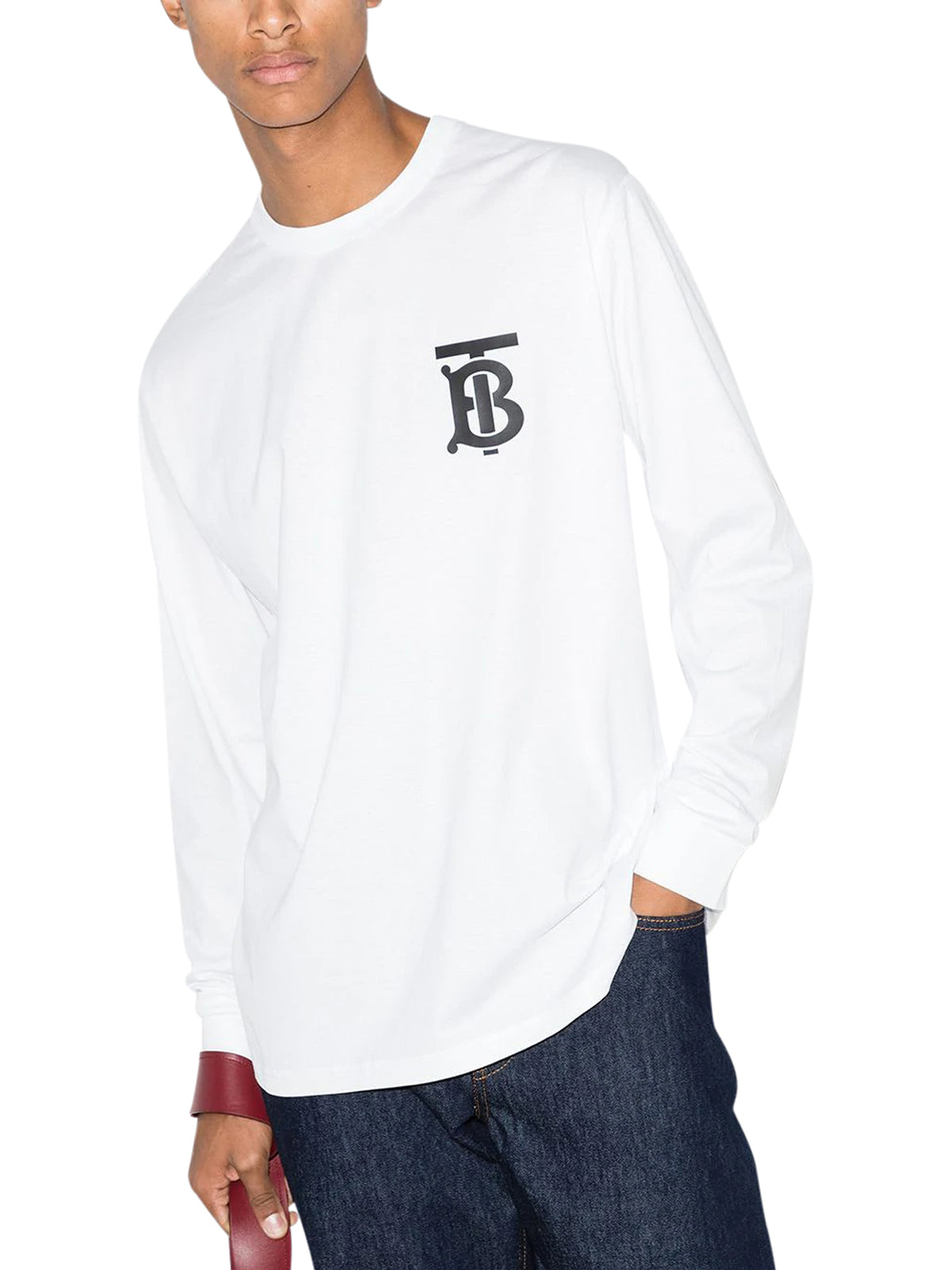 Atherton logo long sleeve T-shirt