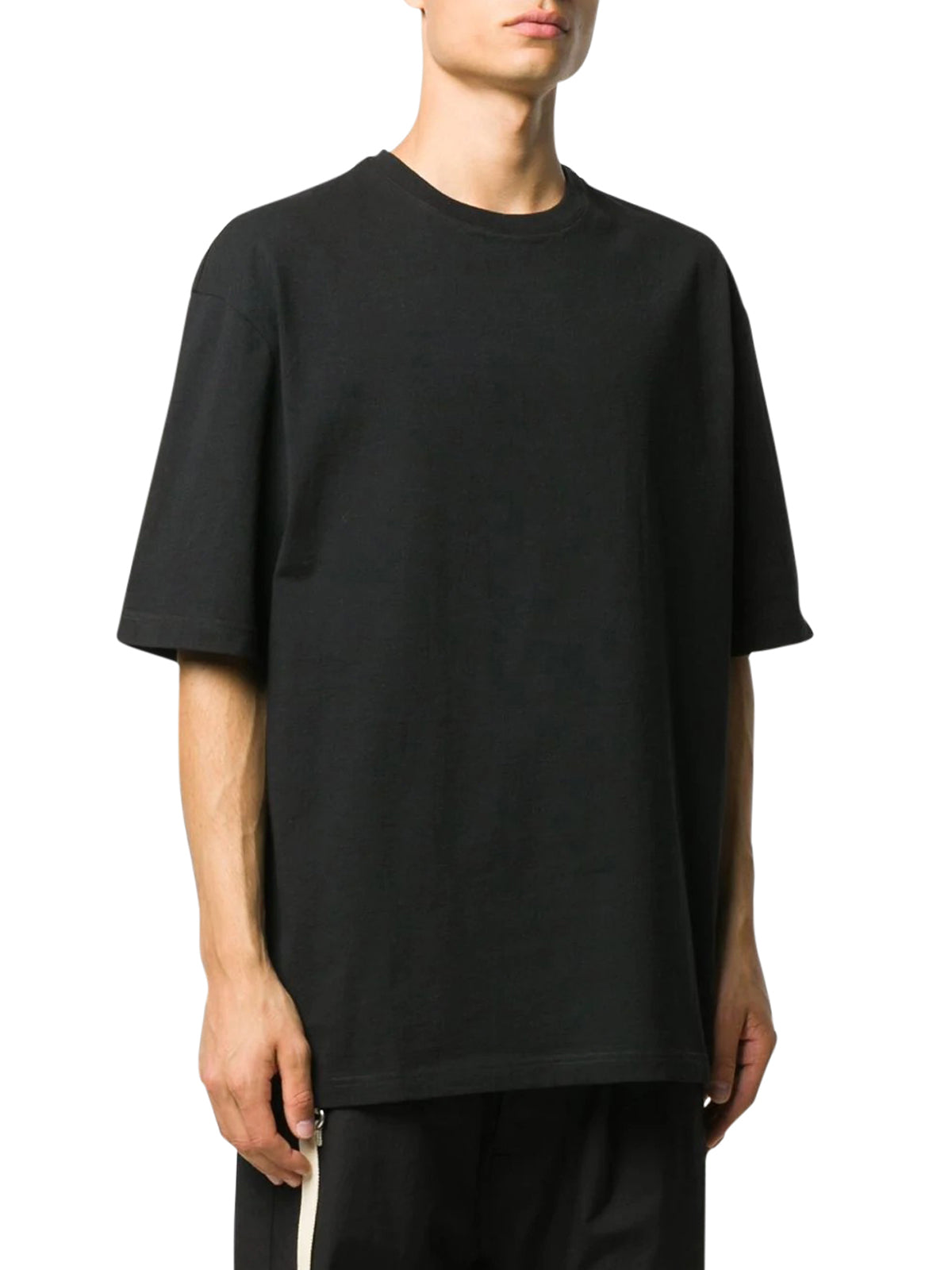 drop-shoulder short-sleeve T-shirt