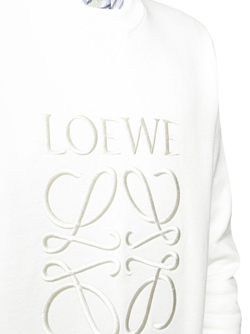 Anagram embroidered sweatshirt