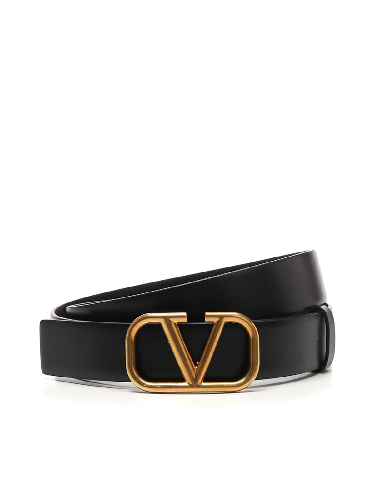 Valentino VLogo Buckle Belt