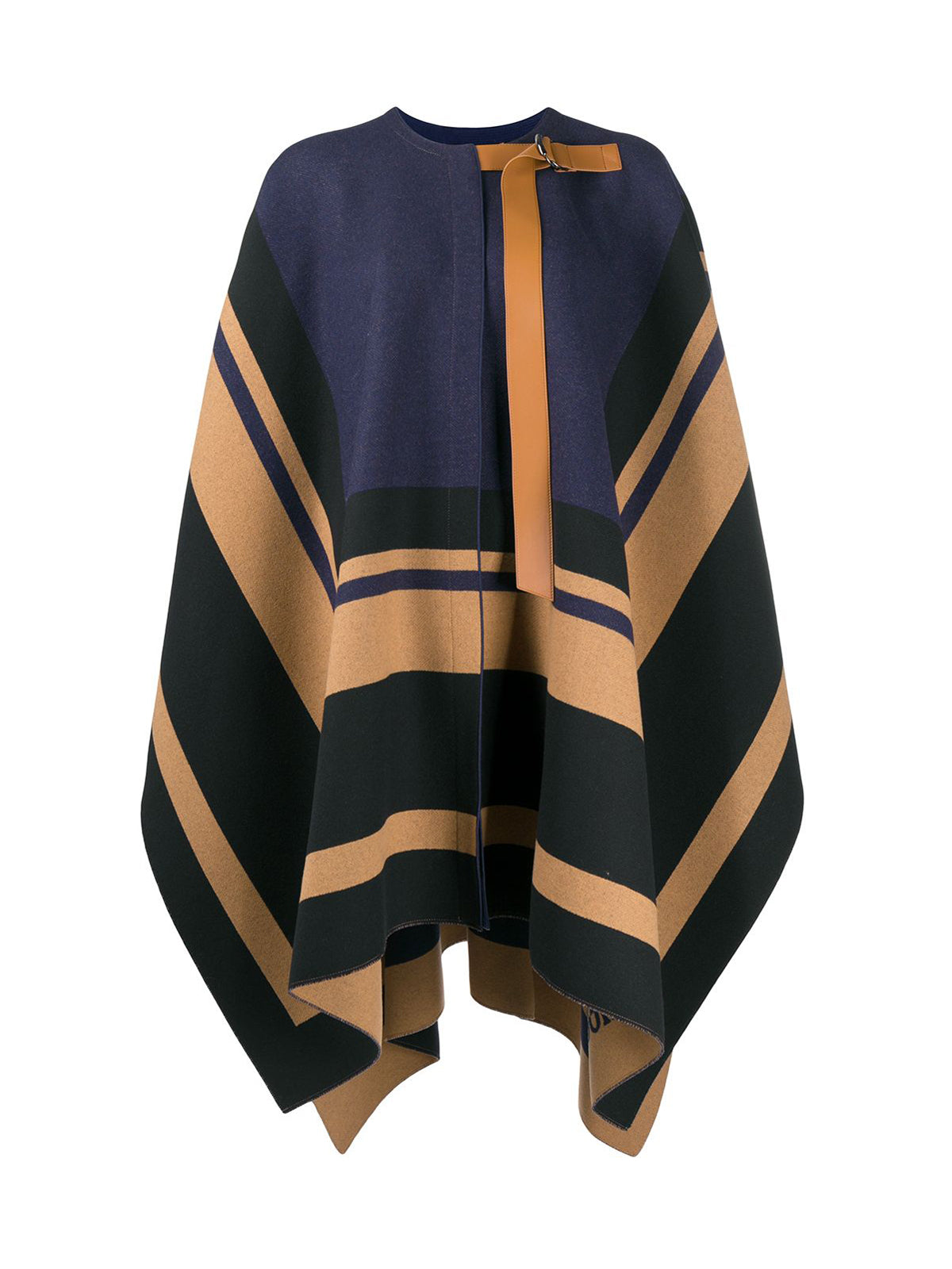 Striped cape