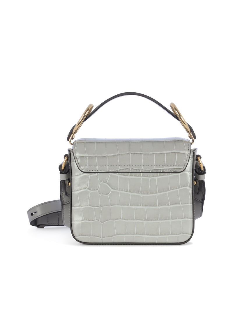 mini C top handle bag