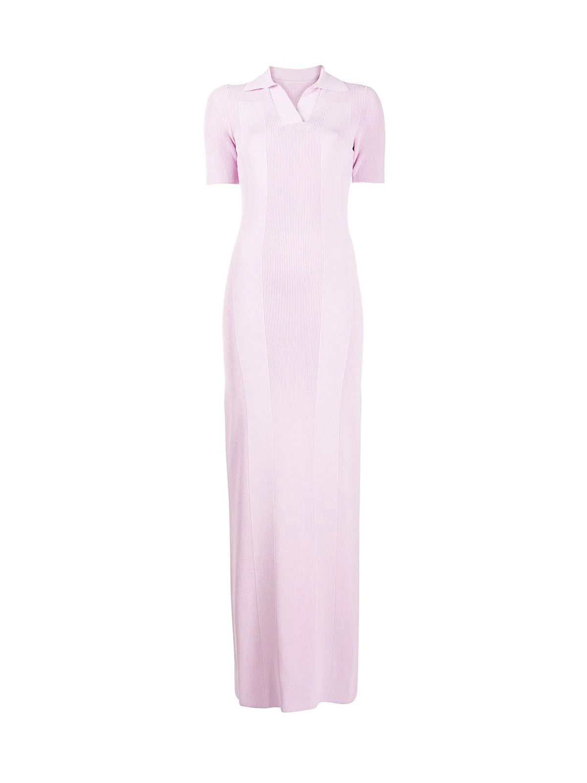 La Robe Maille Polo long dress
